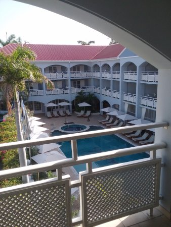 Sandals Inn: View from my suite
