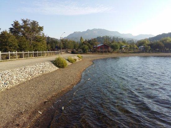 Playa de laguna Icalma