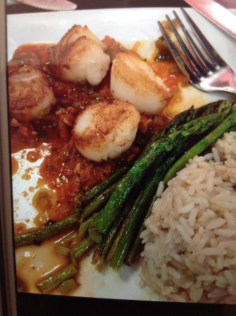 Clementine Cafe : Scallop dinner