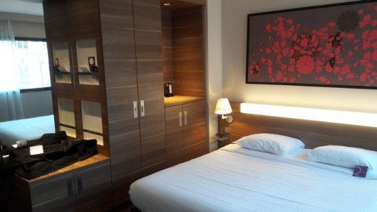 Mercure Cholet Centre Hotel : Nombreux rangements