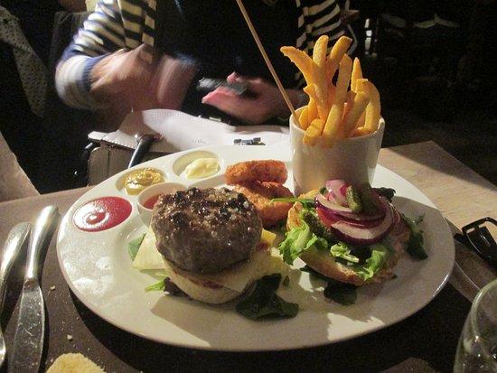 La Luge: hamburger