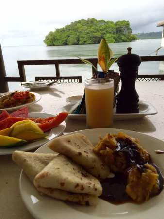 Lami, Fiji: Best part of our stay- Breakfast (has a wide variety!)