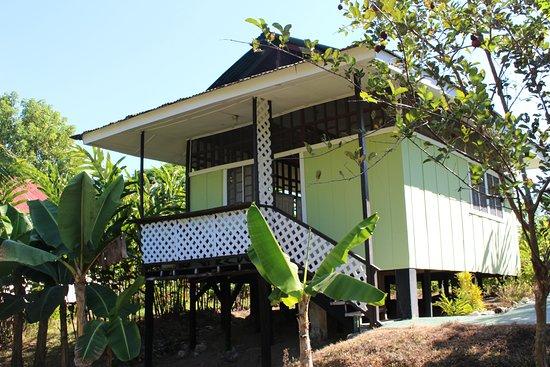 Sierpe, Costa Rica: Een van de lodges