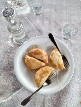 Chorafakia, Grecia: Bougatsa con miele
