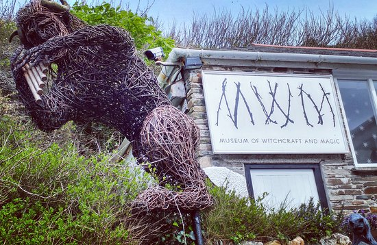 Boscastle, UK: The Museum of Witchcraft and Magic