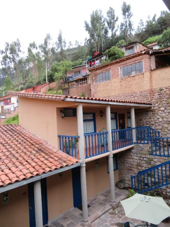 Tierra Viva Cusco Saphi: the junior suite is separated from the other rooms.