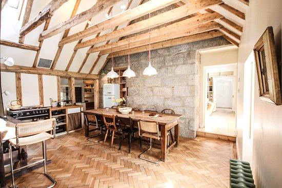 Nethy Bridge, UK: Dell Lodge kitchen