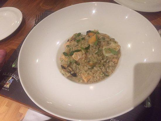 Al Fresco Italian Restaurant: sea food risotto... delicious