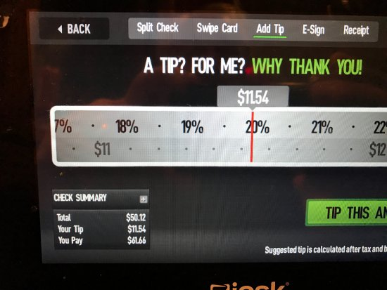 inaccurate tip calculator inflates tip by a few percent picture