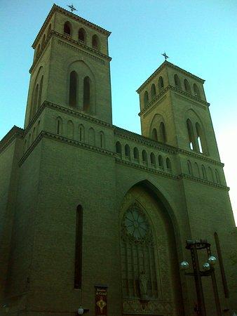 Museo de los Faroles y Rosario de Cristal: Iglesia del Sagrado Corazón de Jesús, el edificio que alberga al museo.