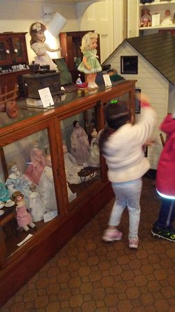 Toy Room at the Follett House Museum