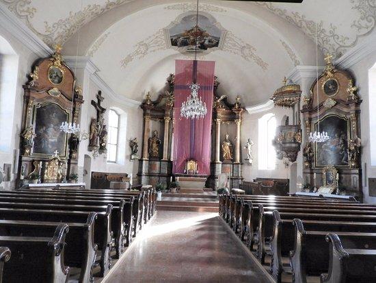 St Gilgen, Austria: 教会内部の様子