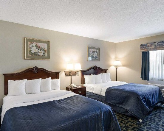 Quality Inn: Rooms with 2 Queen beds