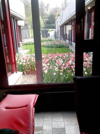 Mondorf Parc Hôtel : Vue de l'intérieur du complexe thermal intégré dans l'hôtel