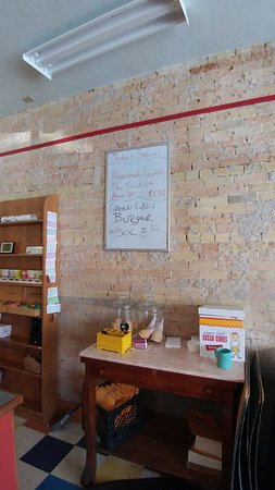 Paonia, CO: Interior with special board