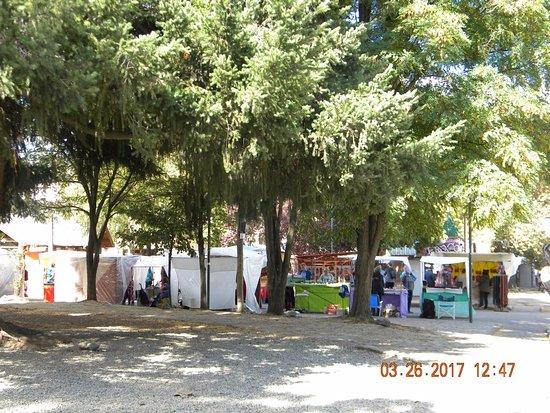 El Bolsón, Argentina: Otra vista de la Feria Artesanal