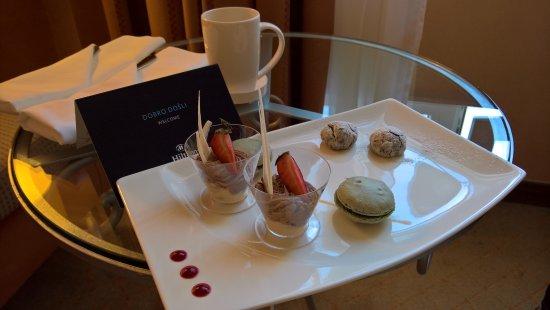 โรงแรมฮิลตัน อิมพีเรียล ดูบรอฟนิก: ウェルカム・スイーツ