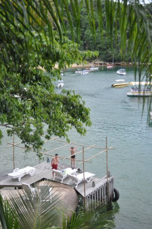 Vila Pedra Mar: The view from our room - watching our kids swim