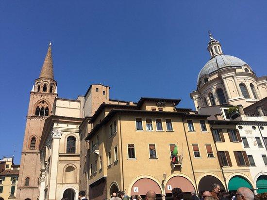 Photo of Piazza delle Erbe in Mantua, , IT