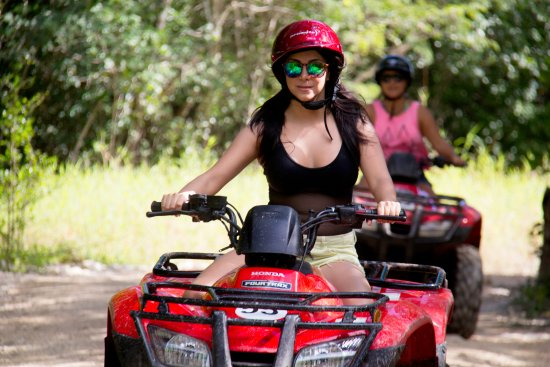 Wow Excursions - Tours: ATV TOUR IN COZUMEL