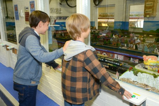 Whitfield, UK: Interactive model railway - fun for all ages!