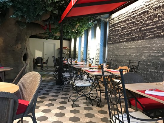 Saillon, Svizzera: salle à manger
