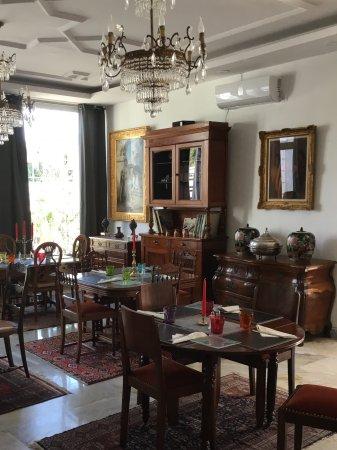 Vue de la petite salle à manger - Picture of Les Orientalistes Alger ...