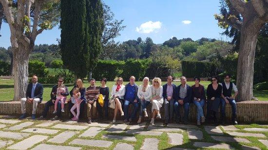 Subirats, Ισπανία: Magnífica visita guiada a una de las cavas más sublimes de cataluña