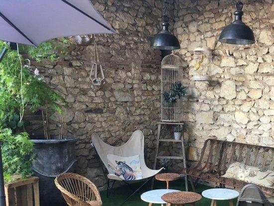 Marssac-sur-Tarn, Fransa: Notre coin salon extérieur