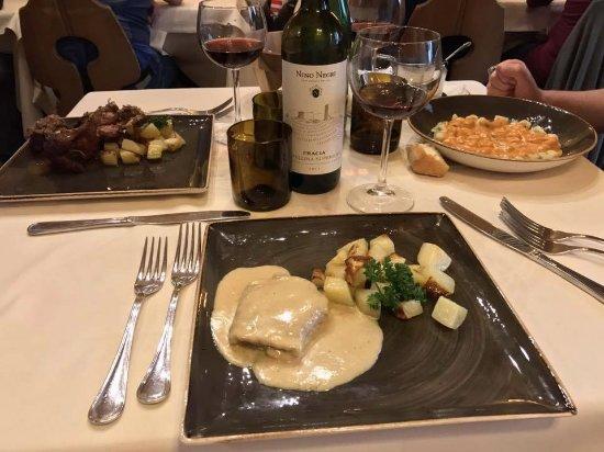 La Taverna Valtellinese : Capriolo, tasca e gnocchetti