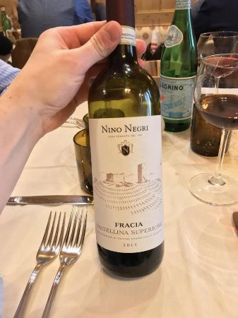 La Taverna Valtellinese : Il rosso Valtellina Superiore