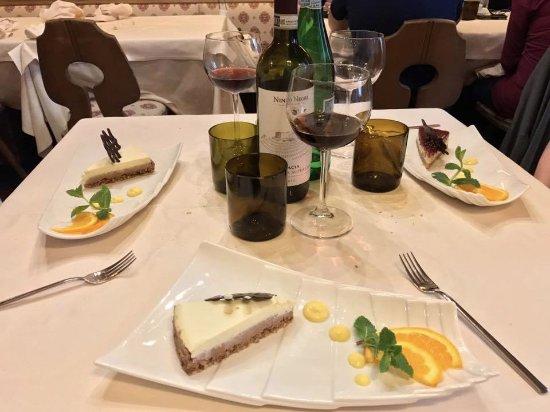 La Taverna Valtellinese : Il tris di dolci