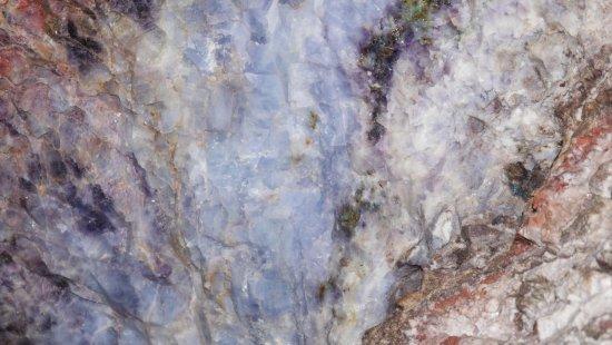 Kletno, Poland: Minerały w ścianach kopalni