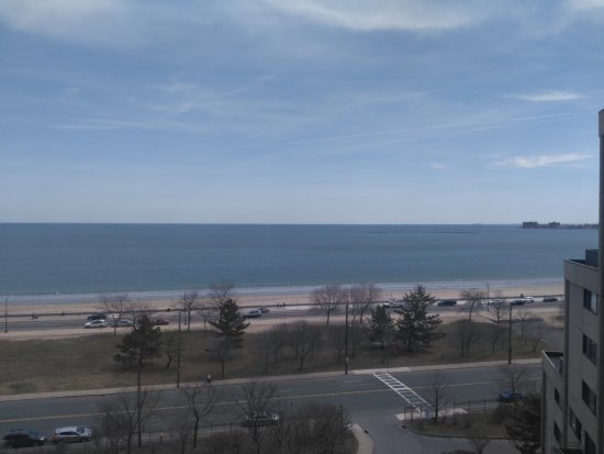 Revere, MA: View of the beach...