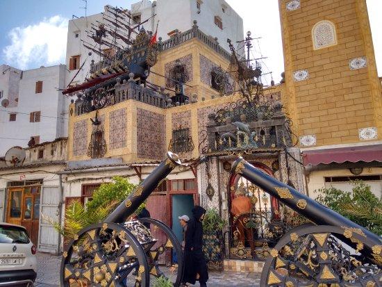 Picture of old medina of casablanca for Salon yemenite