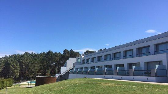 Monte Prado Hotel & Spa: Todos os quartos virados para o Rio Minho