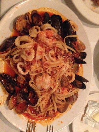 The Sicilian Ristorante : Linguini a la Pescatore