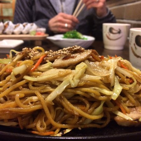 Queen Charlotte City, Canada: Chicken Yakisoba