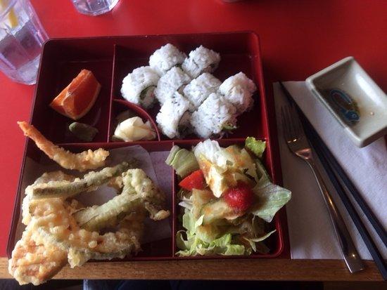Lake Cowichan, Canada: california sushi roll