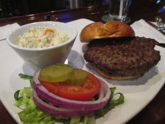 Fridley, MN: 8 ounce Burger W Cole Slaw