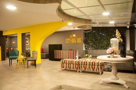 Hotel city bog 106 desde bogot colombia for Hotel design 100 bogota