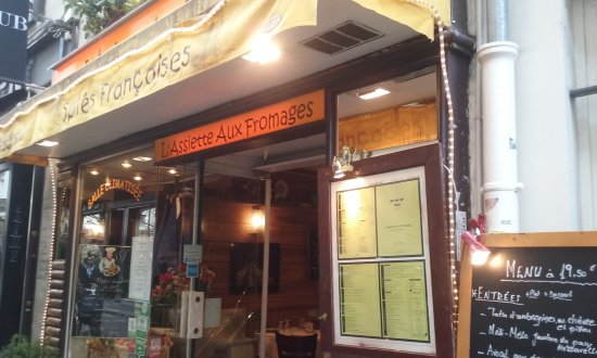 Photo of French Restaurant L'assiette aux fromages at 25 Rue Mouffetard, Paris 75005, France
