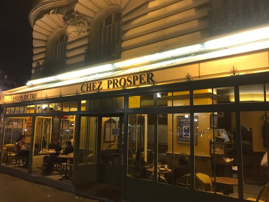Chez Prosper : Façade de la brasserie