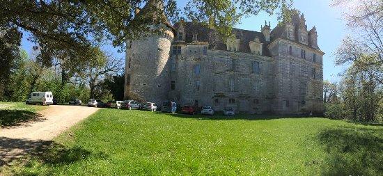 chateau de lanquais: Chateau La Lanquais