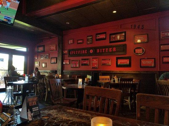 The Londoner Rockwall Pub Decor
