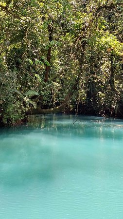 Tenorio Volcano National Park, Costa Rica: Amazing blue water