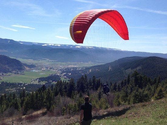 Vernon, Kanada: My First Tandem Flight as part of Tandem Course