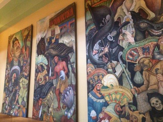 Murales Fotografia De Museo Del Palacio De Bellas Artes Ciudad De