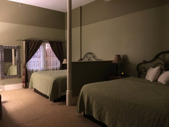 Las Vegas, NM: View of our double king room.