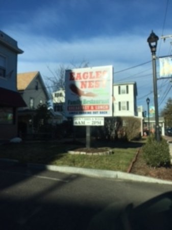 Terryville, CT: Front Sign with hours...